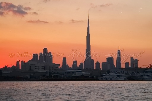 Dubai Skyline _sunset