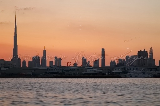 Dubai Skyline _sunset_