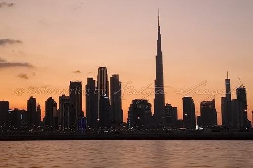 Dubai Skyline _sunset_1