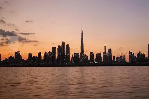 Dubai Skyline _sunset_2