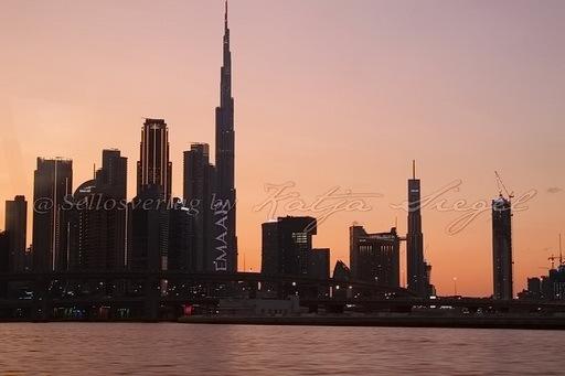 Dubai Skyline _sunset_3