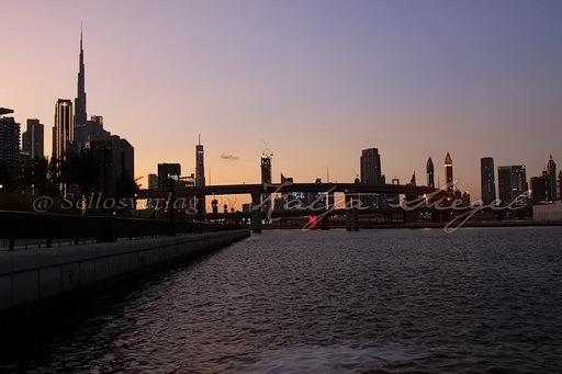 Dubai Skyline _sunset_5