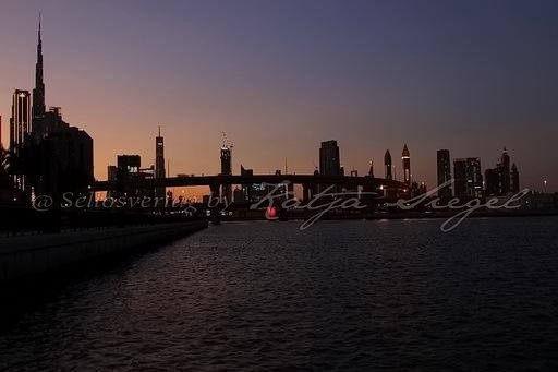 Dubai Skyline _sunset_6