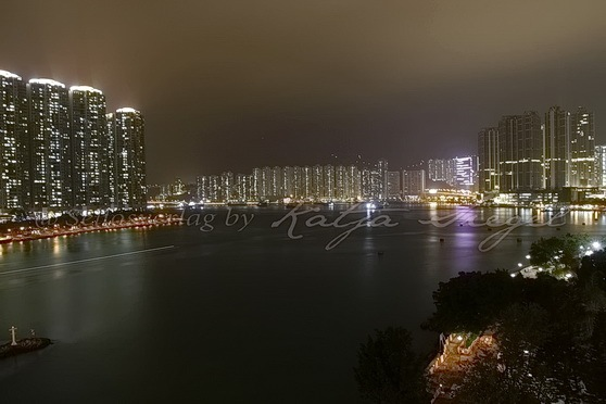 香港 by night_1