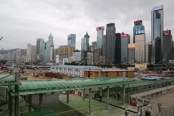 Wan Chai Ferry Pier灣仔渡輪碼頭_