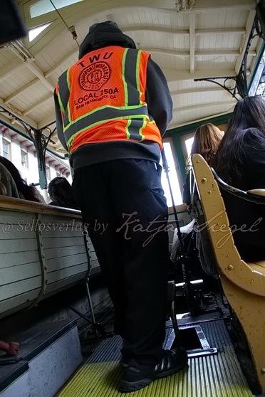 Cabel Car worker